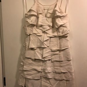 BCBG Max Azria ruffled mini dress
